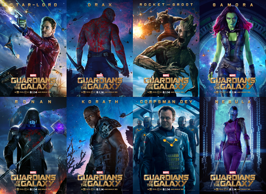 Guardians of the galaxy thefriedgold
